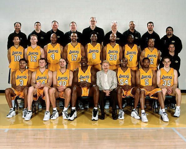 The Lakers, 2000-01 season