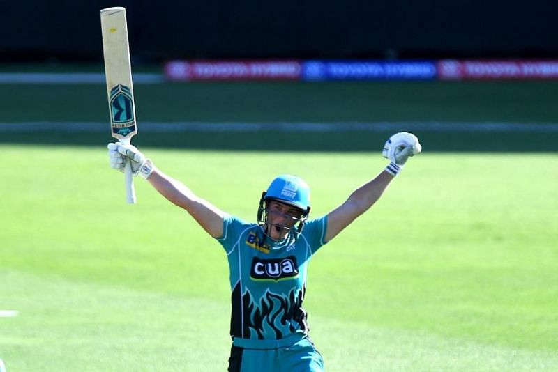 Grace Harris played a fantastic innings for Brisbane Heat in the ongoing Women