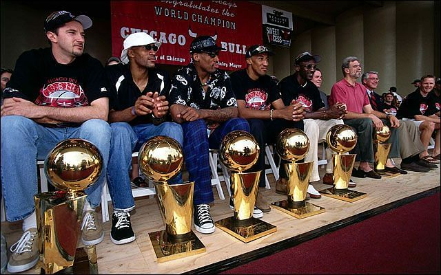 The Bulls have won six NBA championships in six trips to the Finals