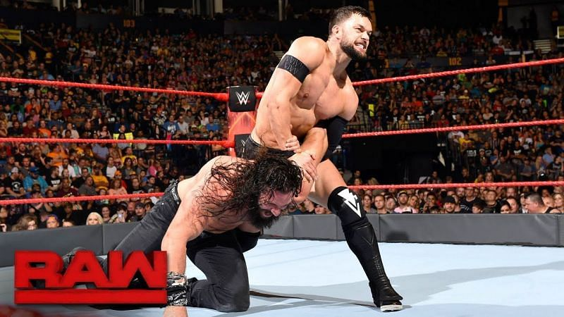Balor and Elias fought on what seemed every episode of Raw during the summer.