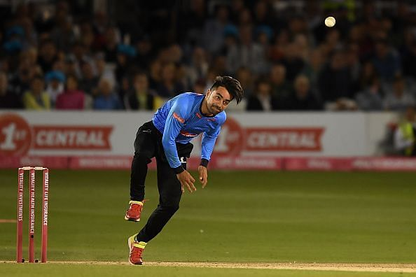 Our thoughts are with Rashid Khan