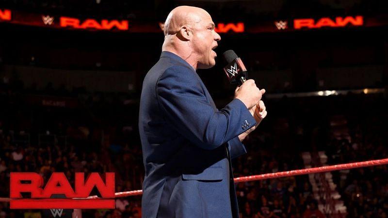Will Kurt Angle return and take Braun Strowman
