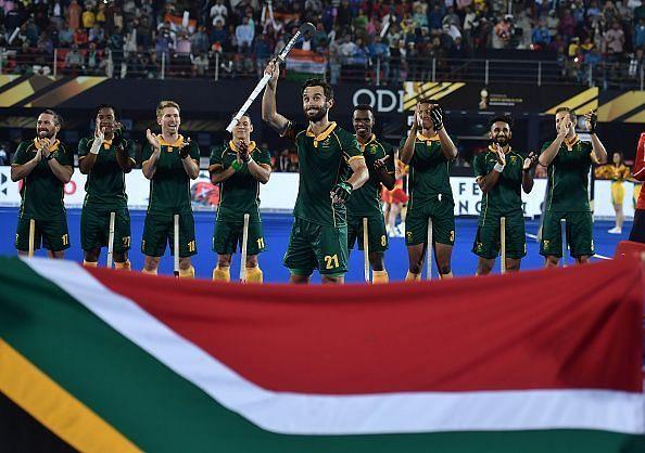 India v South Africa - FIH Men