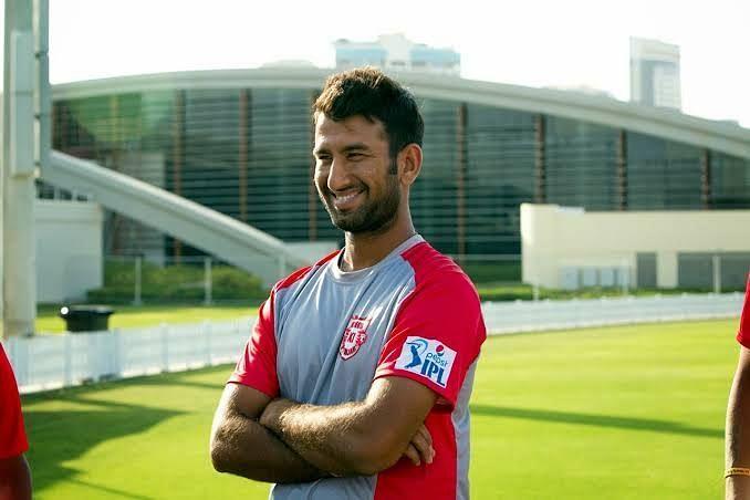 Cheteshwar Pujara played for Kings XI Punjab during the year 2014