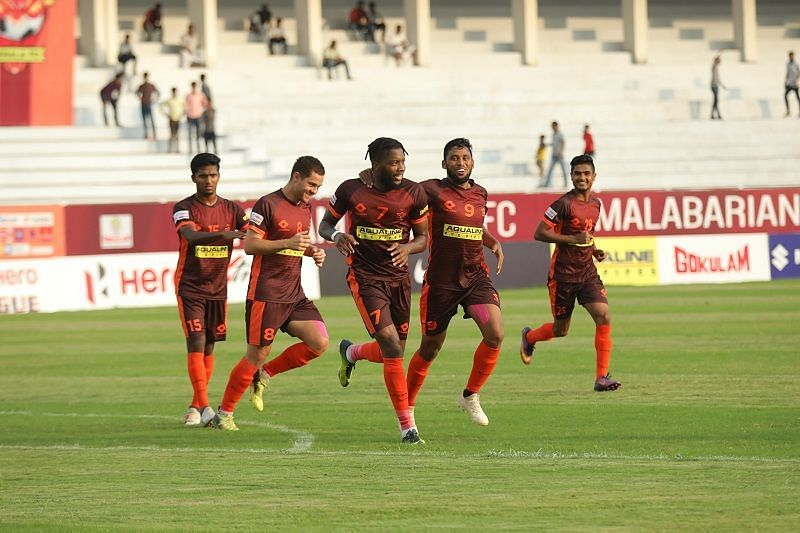 Antonio German (centre) was unhappy with the situation at Gokulam Kerala FC