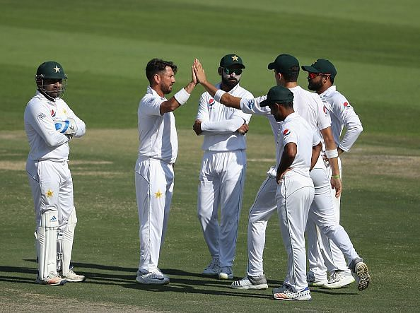 Pakistan were upset at home by New Zealand