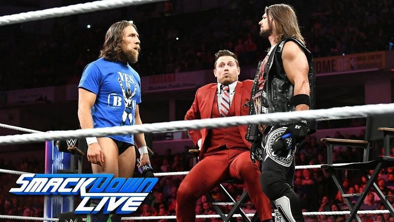 The Miz is arguably the best character
