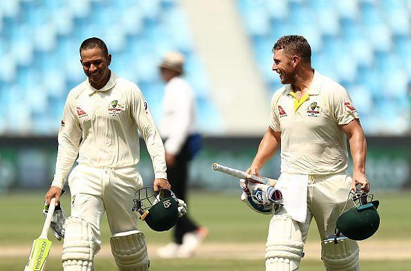 Pakistan v Australia: 1st Test - Day Three