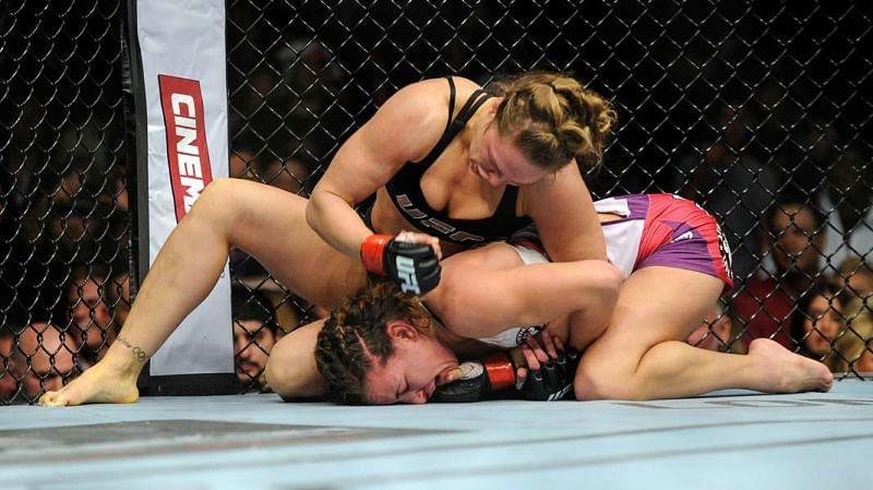 Ronda Rousey punishes Miesha Tate