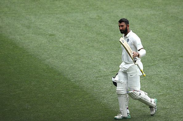Cheteshwar Pujara played five ODIs for India; however, his strike-rate of 39.23 let him down then