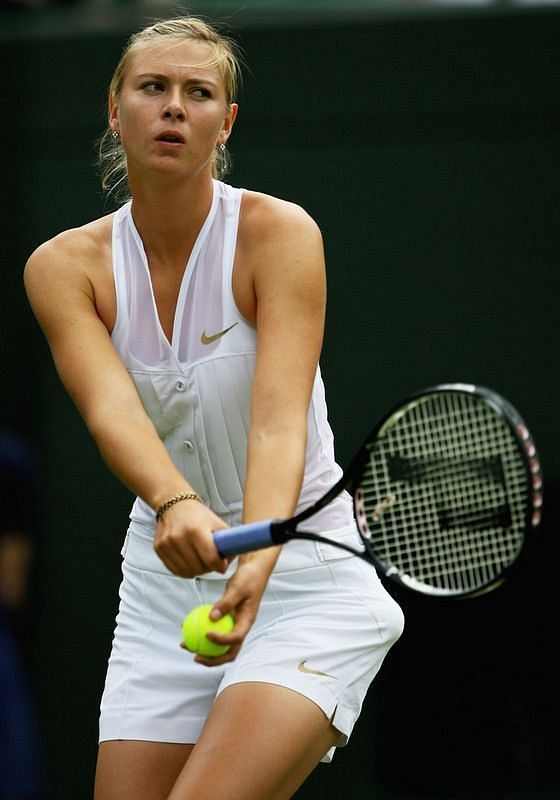 Tux Luxe of Maria Sharapova