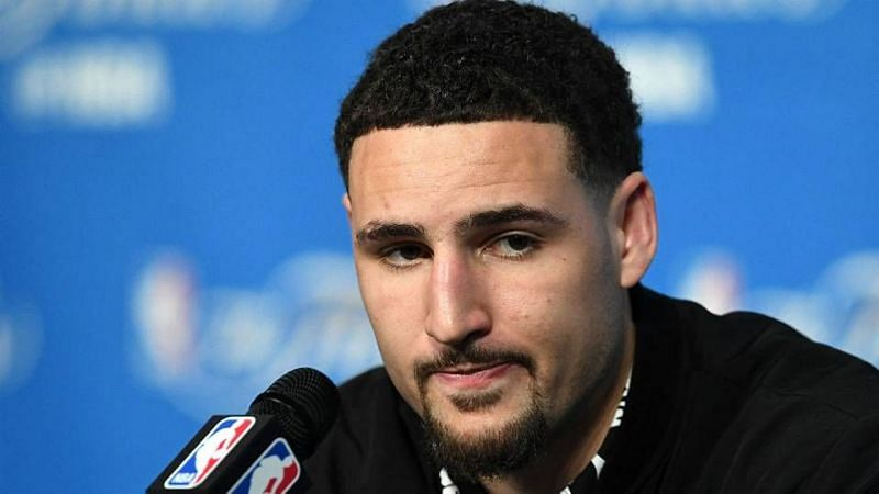 Klay Thompson is in one of the worst shooting slumps of his career Credit: Sporting News