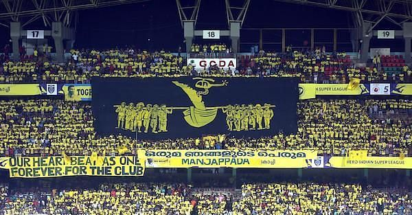 The Kerala Blasters fans