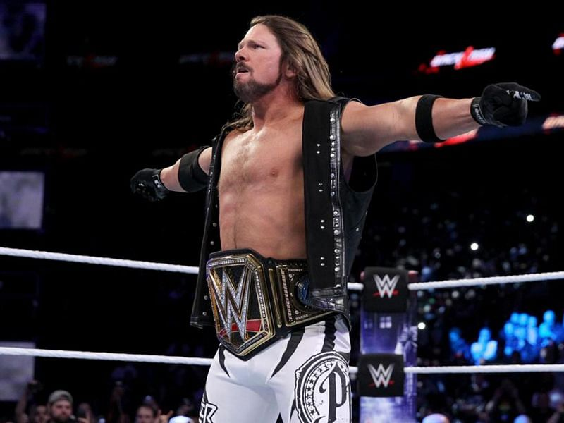 AJ Styles reigned as the WWE Champion for more than a year