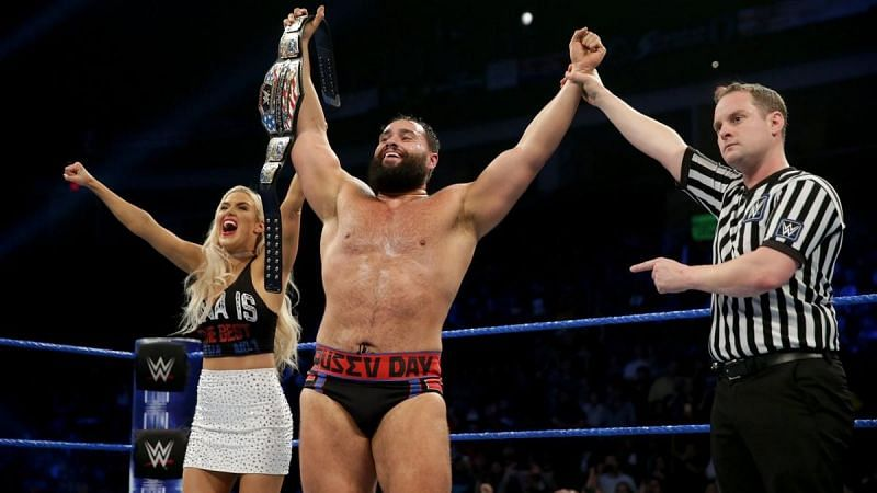 Rusev can probably put an end to Nakamura