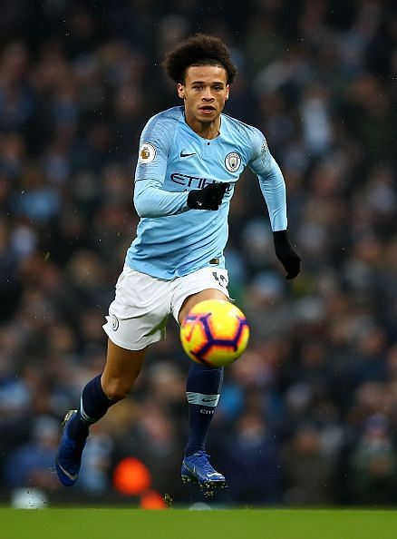 Leroy Sane will be taking on his former club