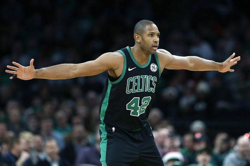 Horford in Action on his return against the Charlotte Hornets