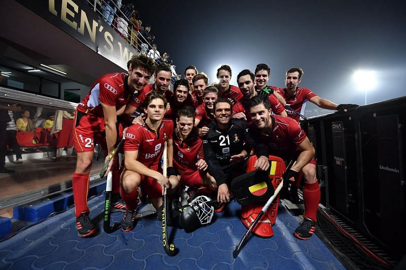 Belgium got the better of European rivals Germany by a 2-1 margin (Image Courtesy: FIH Media)