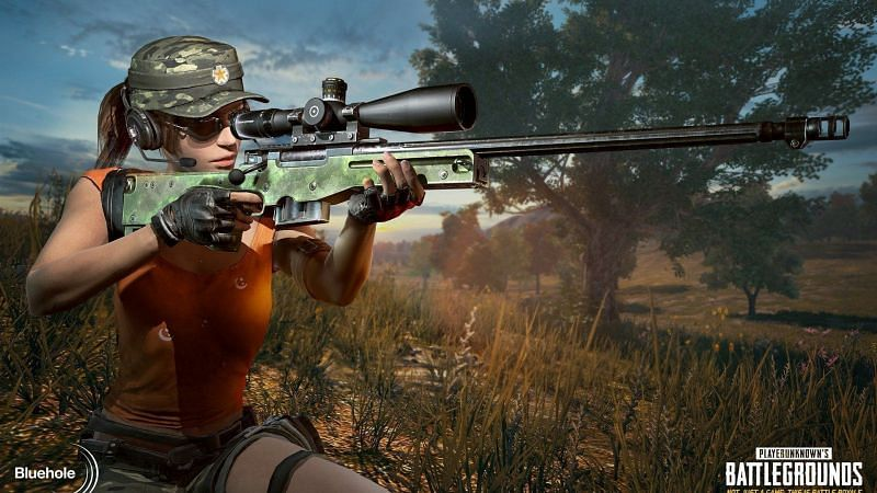 Female Character in PUBG Mobile