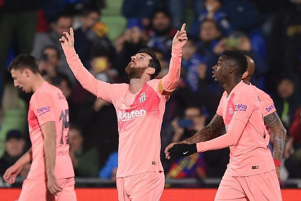 A new year but the same old Lionel Messi. The Argentine starts the year with a goal against Getafe and a spectacular performance.
