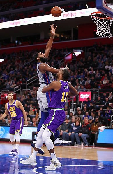 Andre Drummond is a double-double machine for the Pistons