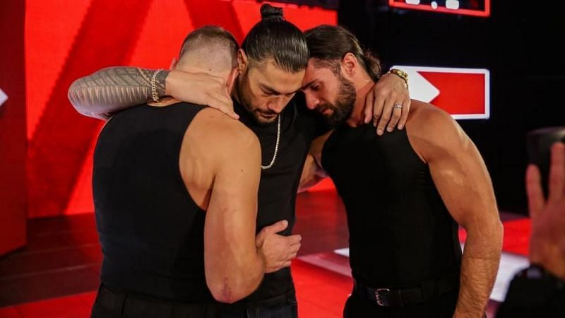Roman with Seth and Dean