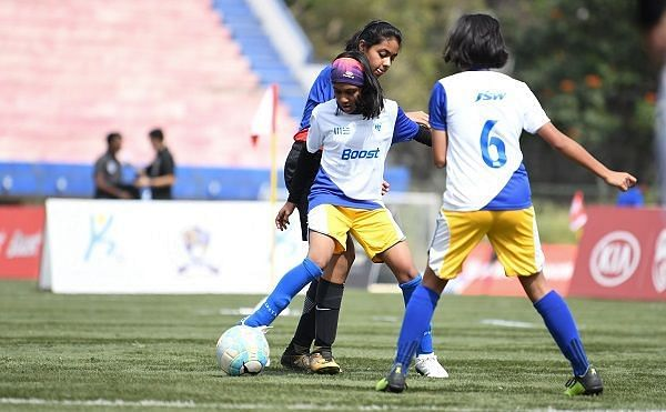 Action from Day 1 of the Boost-BFC Inter-School Shield