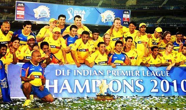 CSK won the IPL in 2010