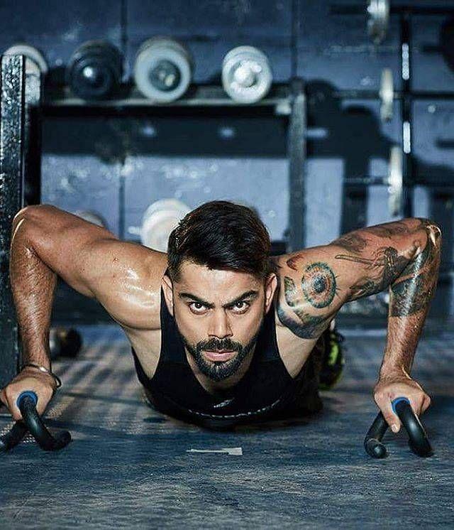 Kohli is a fitness freak himself