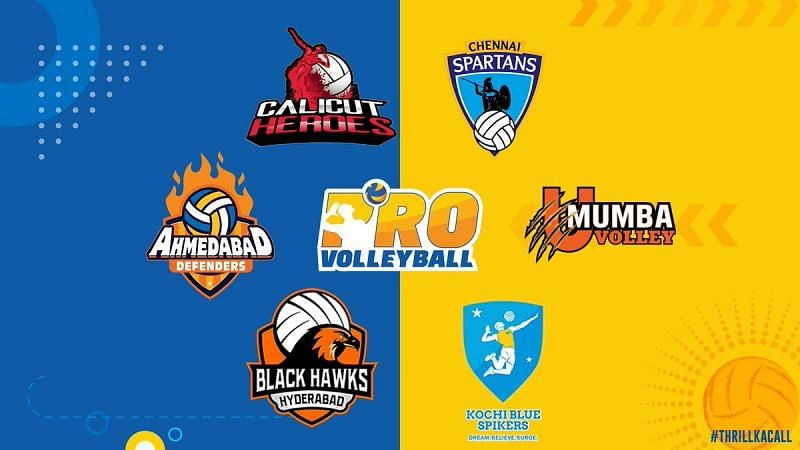 Pro Volleyball League 2019 All Teams