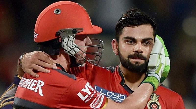 Virat Kholi and ABD have already scored century in same match