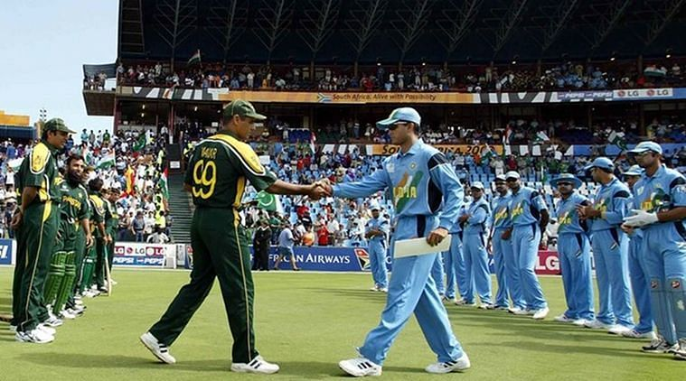India vs Pakistan during 2003 World Cup