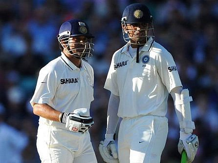 Dravid and Sachin duo scored 6920 runs in Test Cricket