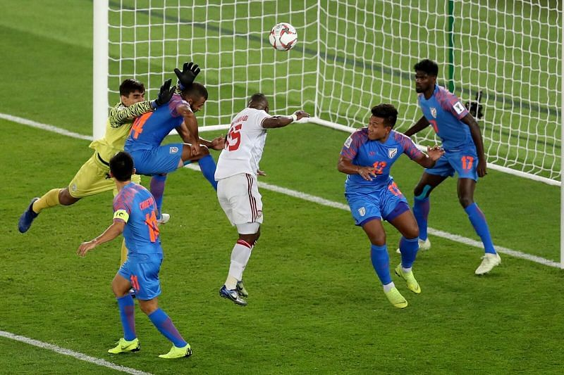 One of main weakness for this Indian defence is their position while blocking a set-piece