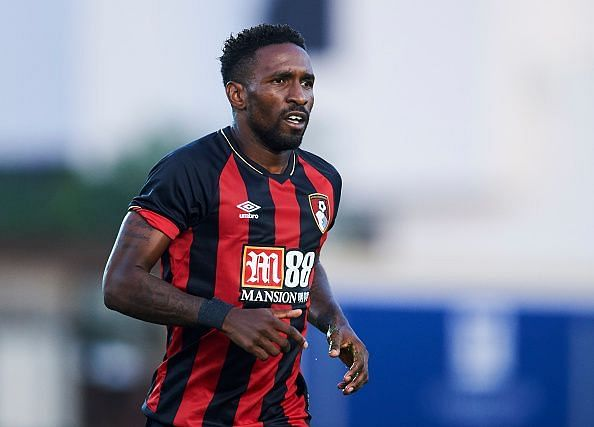 Defoe in action during a Pre-Season friendly