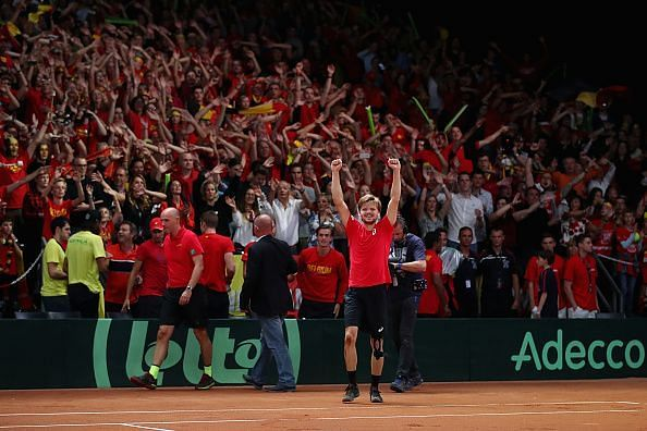 Belgium v Australia - Davis Cup World Group Semi Final: Day 3