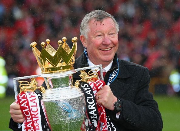 Sir Alex Ferguson won the Premier League a record 13 times