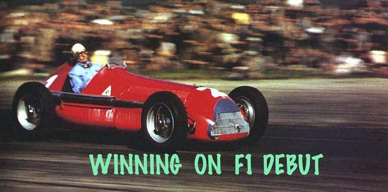 GiuseppeFarina won the first ever official F1 race