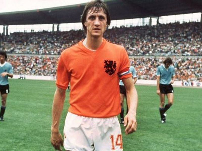 Cruyff was the talisman for the Oranje but never lifted a trophy for his nation