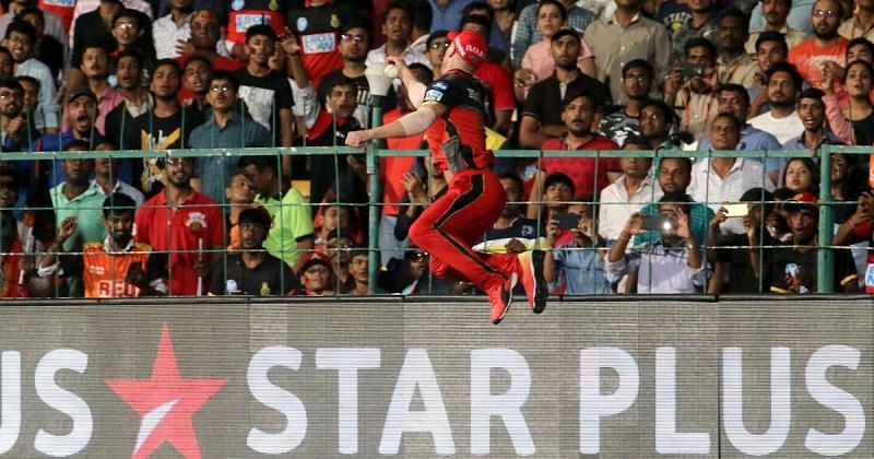 AB de Villiers pulled off this superhuman catch in the IPL to send Hales back to the dugout