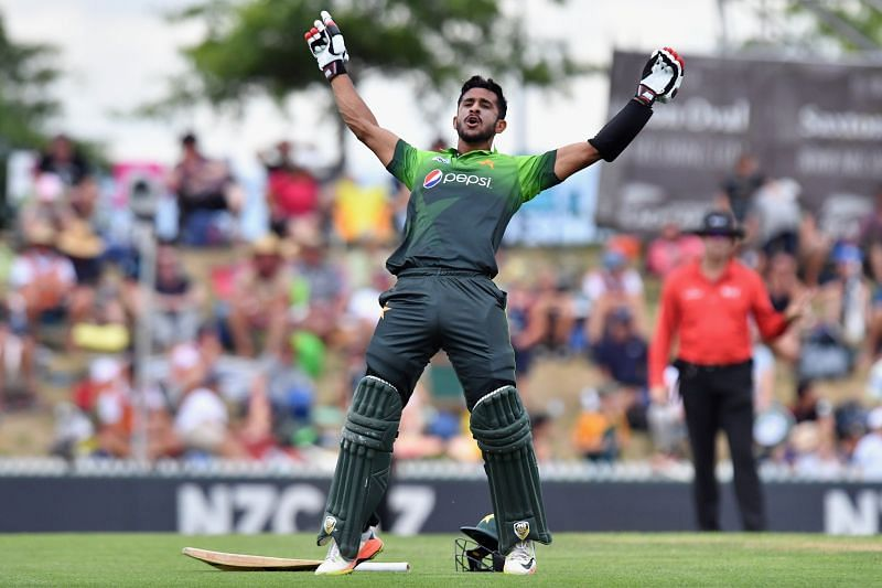 hasan ali celebrates his fifty
