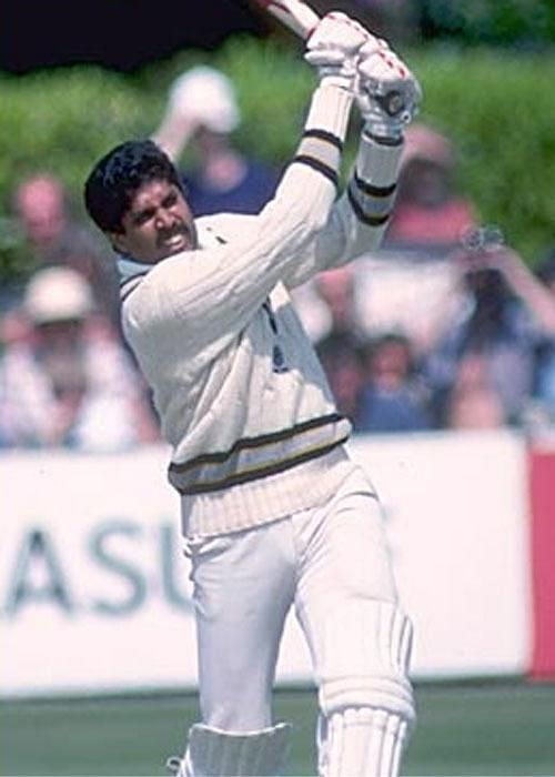 Kapil Dev scored a fluent half century to tilt the match in India