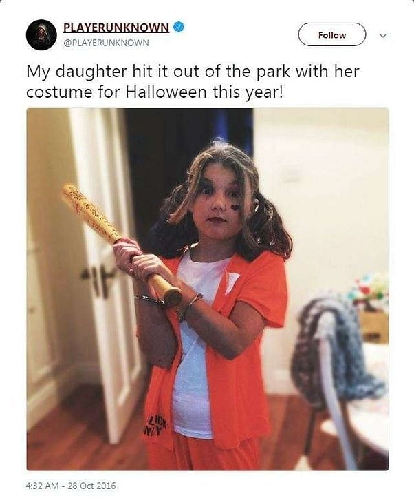 Eryn - Brendan Greene's daughter