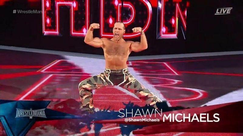 Shawn Michaels has a poor win-loss record at WrestleMania