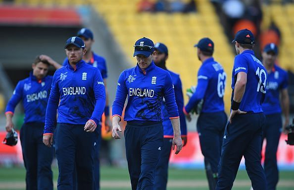 England - 2015 ICC Cricket World Cup
