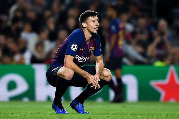 Lenglet and Pique have both been abysmal while defending crosses or high lobbed passes.