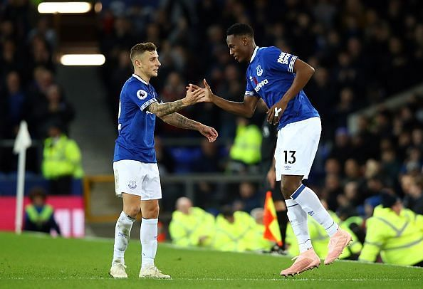 Could another Barcelona player join Lucas Digne and Yerry Mina at Everton?