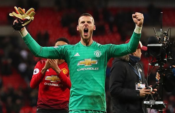 David de Gea is arguably the best goalkeeper in the world