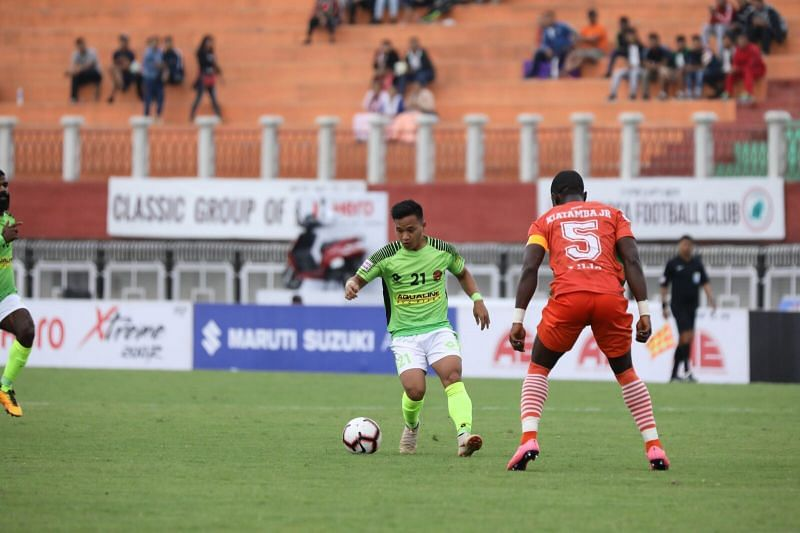 Bodo (L) in action against Neroca