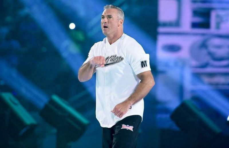 Shane McMahon is still portraying the role of a Authority figure on TV